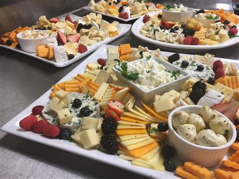 fruit and cheese display fresh fruit and cheese skewers galluccis