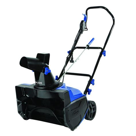 snow joe 18 ultra electric snow thrower with light snow joe ultra 18 in 13 amp electric snow blower sj618e