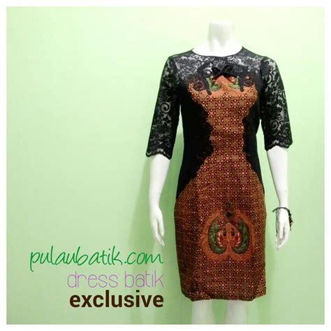 Baju Batik Wanita Dress Batik Wanita Queena batik shop pekalongan yang jual baju murah dan