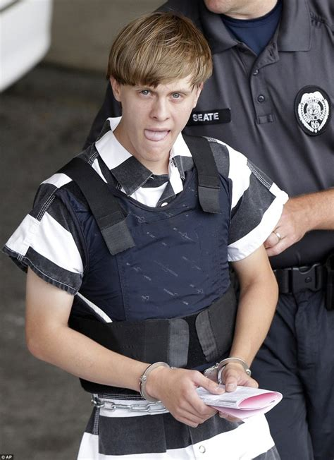 dylann roof dylan roof s missing racist tattoo now gone white power