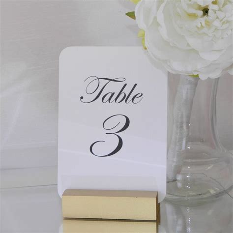 gold table number holders the 25 best table number holders ideas on