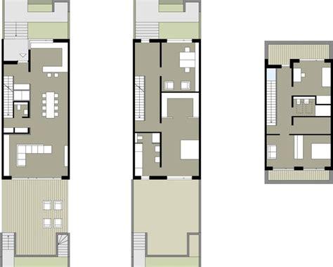 beste 4 schlafzimmer haus pläne die besten 25 schmale hauspl 228 ne ideen auf