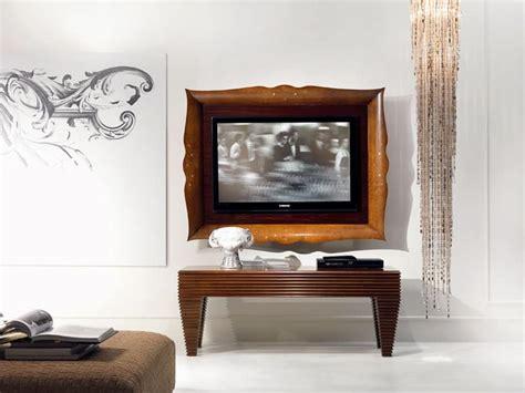 cornici per tv cornice per tv in legno classico di lusso per salotto