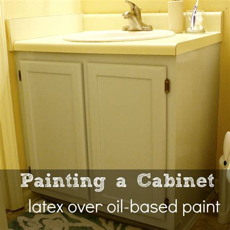 oil based paint for cabinets can you use latex paint over oil based paint creative