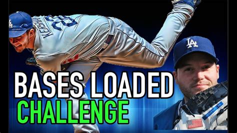 bases loaded challenge  dodgerfilms mlb  show  challenge youtube