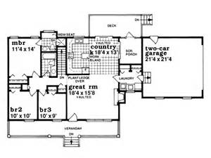 Single Story Farmhouse Plans Eplans Farmhouse House Plan One Story Country Style