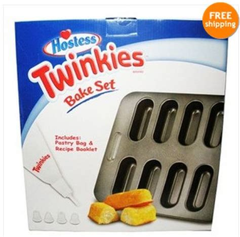 8 Tips On Being A Stellar Hostess by Hostess Diy Twinkie Bake Set Includes Recipe Pastry Bag