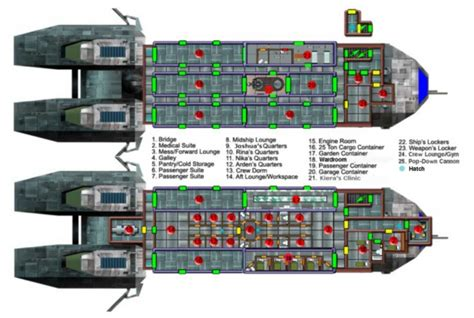 spaceship floor plan space cargo ship deck plan page 2 pics about space