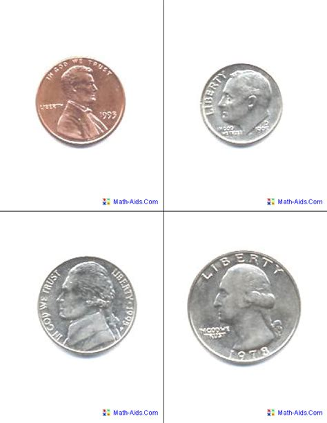 Printable Coin Wrappers Template