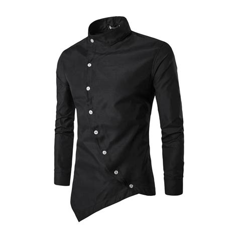 best dress shirts fashion s luxury casual shirts slim fit sleeve stylish dress shirt top ebay