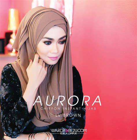 stail tudung terking wardrobe2u perintis fesyen muslimah moden dunia farisya