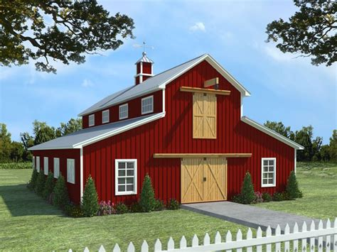 barn apartment plans barn plans horse barn plan with living quarters 001b
