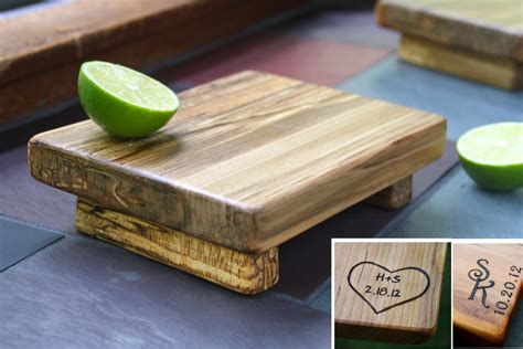 cool cutting boards cutting board personalized unique wedding gift 5th