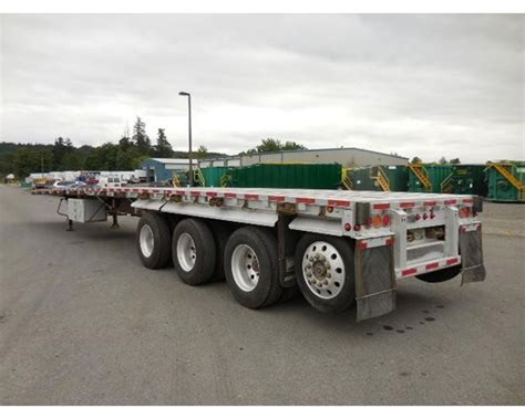 flat bed trailers for sale 2008 wilson flatbed trailer for sale orting wa