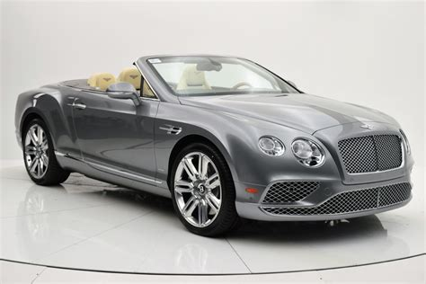 bentley gt w12 2016 bentley continental gt w12 convertible