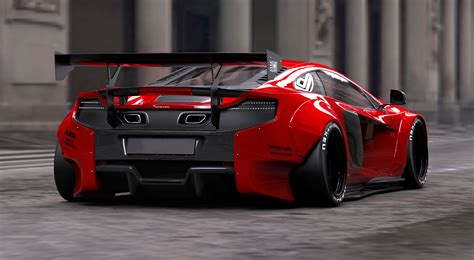 widebody cars widebody mclaren 650s kit by liberty walk car such
