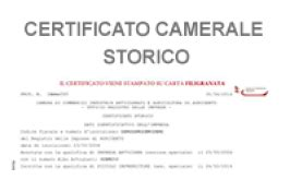 certificato di commercio on line acquista certificati