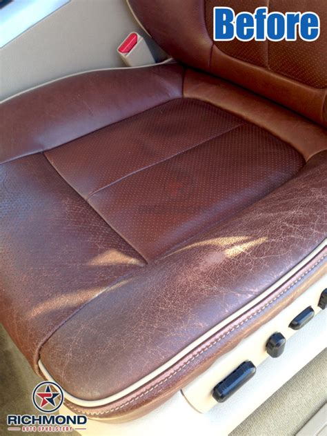 ford f 150 leather seat repair 2009 2012 ford f 150 king ranch leather seat cover driver