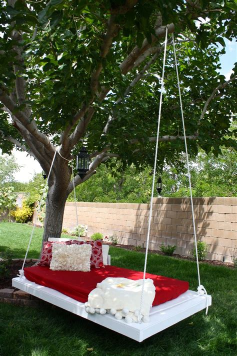 is swinging a good idea diy tree swing garden pinterest tree swings and yards