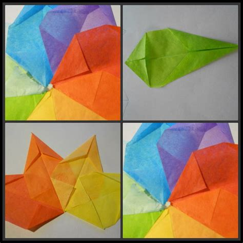 Origami With Tissue Paper - 17 best images about easter lente pasen fruhling