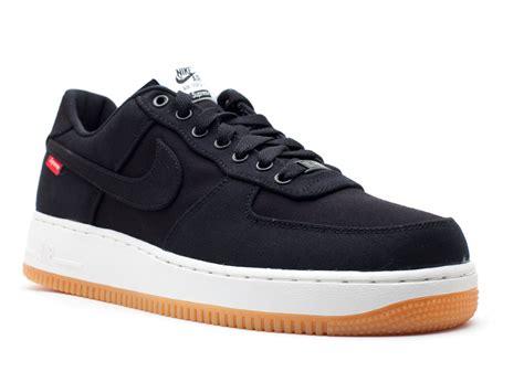 Nike Air 1 Low Premium 08 Nrg X Supreme Air 1 Low Premium 08 Nrg Black Black