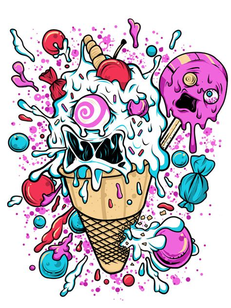 mad ice cream by monkeyman artwork on deviantart