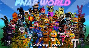 Foxy world fnaf world my teaser by fnatirfan on deviantart