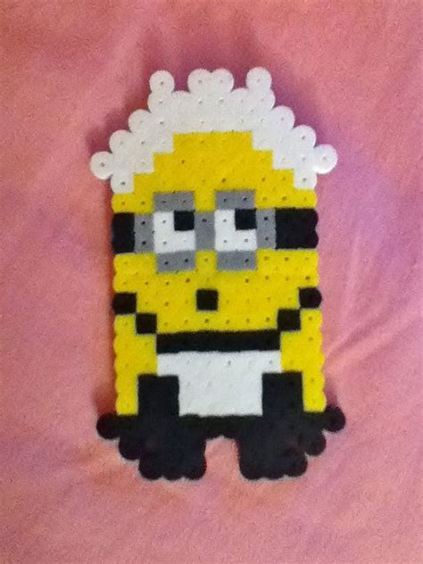 perler minion 31 best images about minion on perler