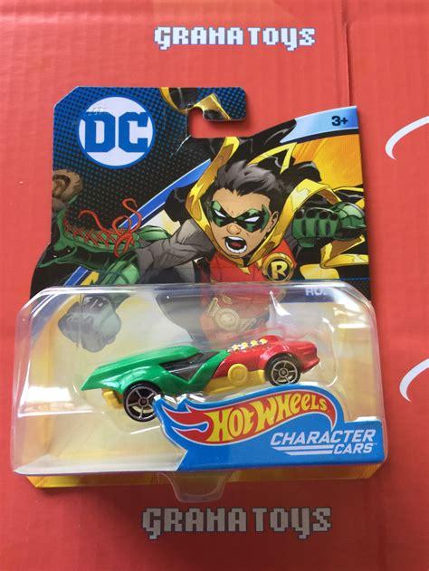 Hotwheels Dc Comics robin 2017 wheels dc comics character cars grana toys