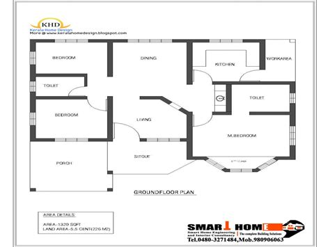 single floor house plan and elevation 1680 sq ft home single floor house plan and elevation 1320 sq ft kerala