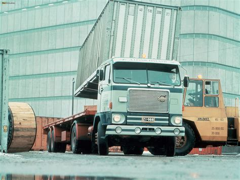 volvo truck factory volvo f88 1965 4x2 at the valmet factory in uusikaupunki