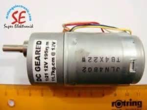 Jual Motor Dc Low Rpm jual gearbox motor dc 295rpm motor dc torsi 10 kg murah malang electronic