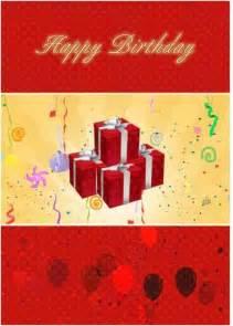 birthday card template microsoft word templates