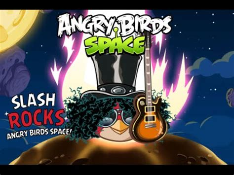 angry birds space theme song angry birds space new theme song by slash