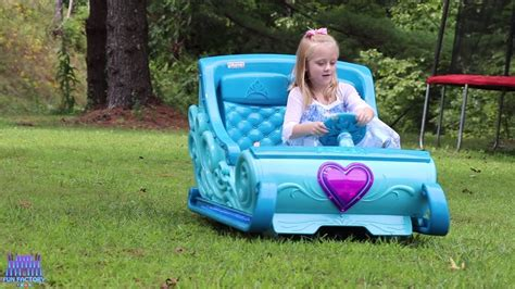 Disney Frozen 2 Sleigh Ride On Power Wheels 12v Princess