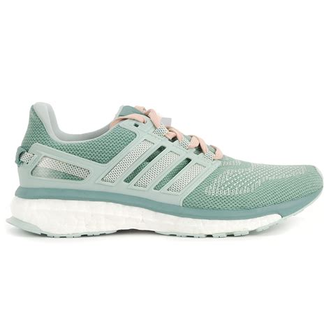 adidas womens energy boost   vapor greenwhite running