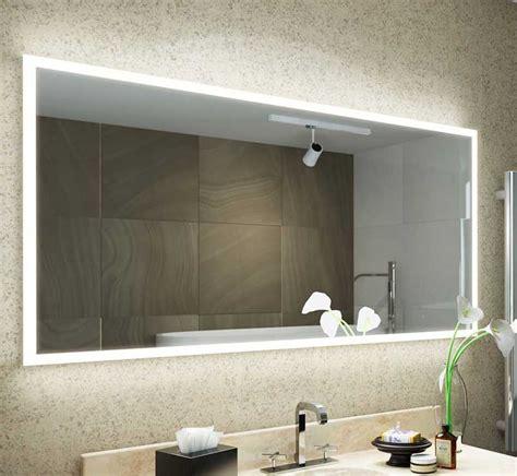 verwarmde badkamerspiegel met verlichting spiegels met scheerstopcontact designspiegels nl