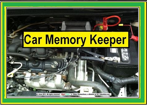 Car Memory Keeper, How to change car batteries without