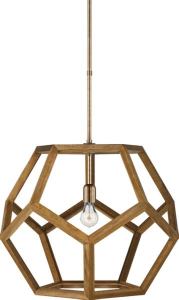 Dodecahedron Pendant Light Large Dustin Dodecahedron Wood Pendant Modern Pendant Lighting By Circa Lighting