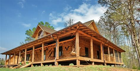 log homes with wrap around porches model home country rustic dream home