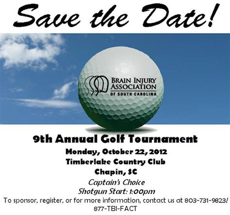 Center For Disability Resources Cdr Library August 2012 Golf Tournament Save The Date Template