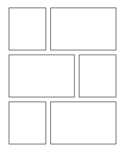 comic template printable comic template