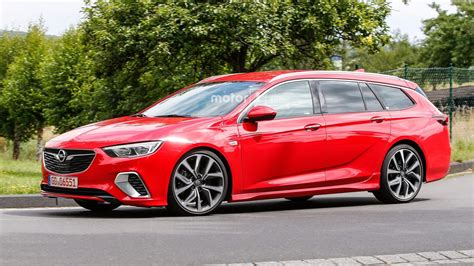 Opel Insignia Wagon by Opel Insignia Gsi Wagon Spied Without Any Camo