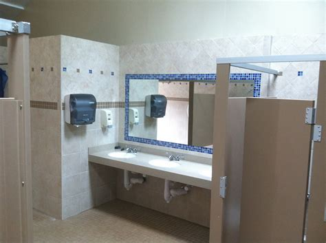 commercial bathroom remodeling portfolio of commercial tile work