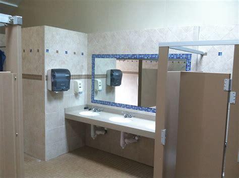 commercial bathroom tile portfolio of commercial tile work