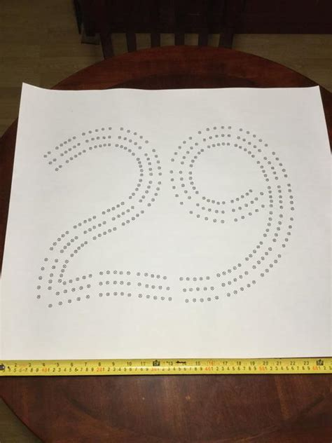 29 cribbage board template large 29 cribbage board pattern paper template
