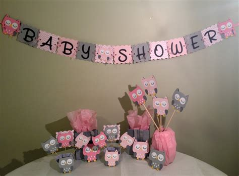 baby shower girl themes owl owl baby shower decorations package owl baby shower pink