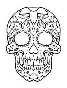 dia de los muertos skull coloring pages gallery for gt dia de los muertos skull coloring pages