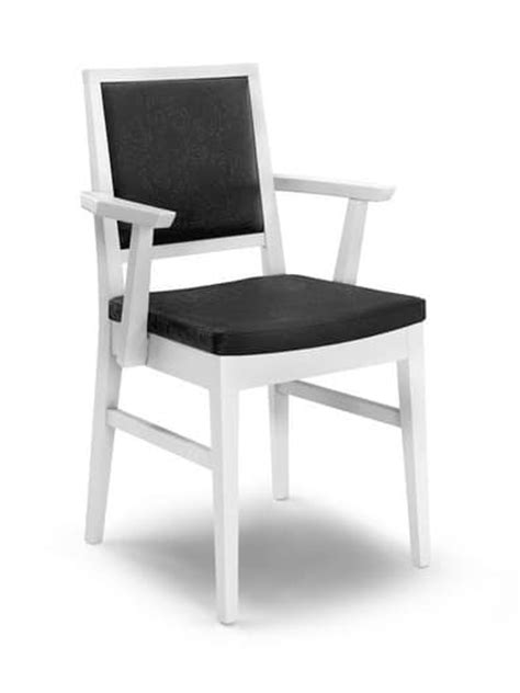sedie per salotti sedia con braccioli in legno imbottita per salotti