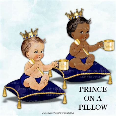 prince on a pillow baby boy royal by divinedigitaldiva